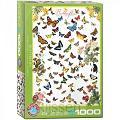 Butterflies (vlinders) 1000 st