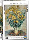 Jerusalem Artichoke Flowers Monet 1000st