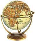 Globe 15 cm antiek draai & kantel