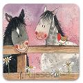 Luxe onderzetter - Horse Whispers Coaste