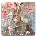 Luxe onderzetter - Hare and Poppies Coas