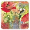 Luze onderzetter - Poppy Coaster
