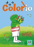 Kikker colorio bloem kleurboek