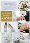 Wenskaart Gefeliciteerd met jullie Huwel