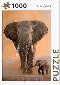 Elephants - puzzel 1000 st