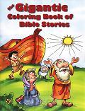 Gigantic Coloring book of Bible stories