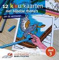 12 kleurkaarten met Bijbelse thema's 3