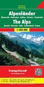 Alpenländer 1 : 500 000. Autokarte