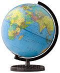 Globe Columbus Terra Ø 30 cm VERLICHT