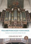 Psalmbewerkingen voor orgel Deel 1