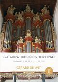 Psalmbewerkingen voor orgel Deel 2