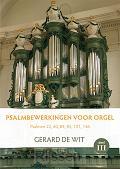 Psalmbewerkingen voor orgel Deel 3